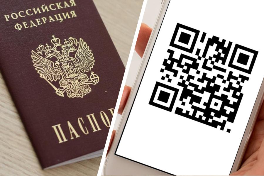 Экран смартфона вместо паспорта