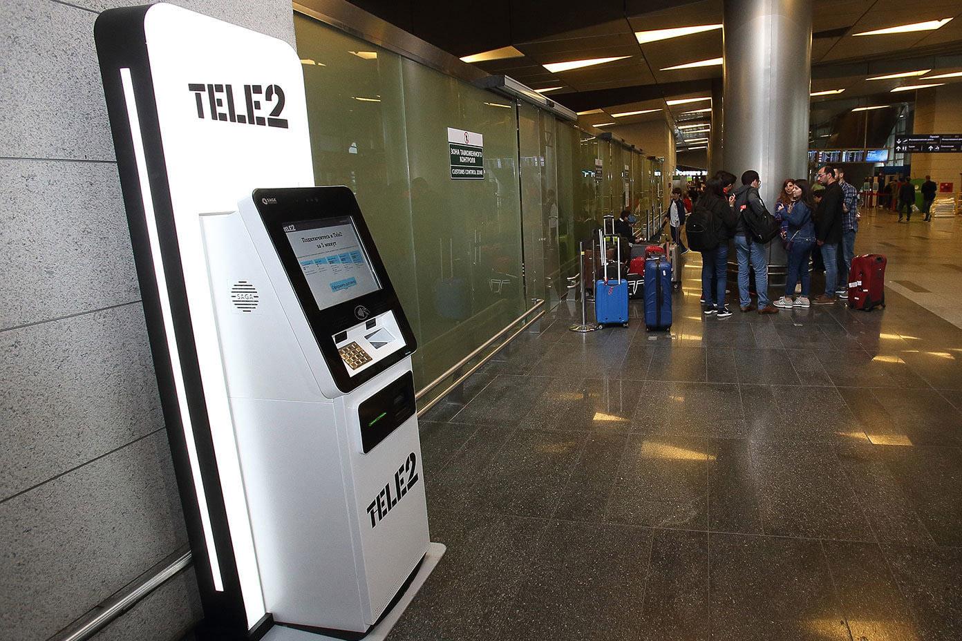Tele2 первым установил автомат по продаже SIM-карт с искусственным интеллектом
